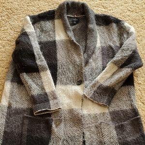 American Eagle Oversized Sweater Blazer